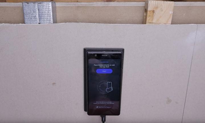 режим сканирования калибровка сканера walabot
