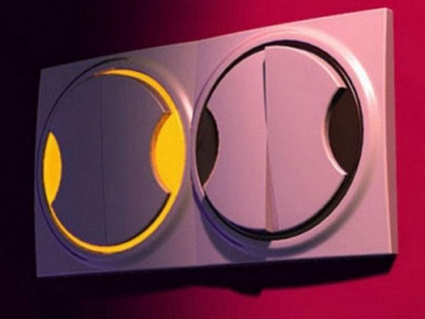 подсветка выключателя причина мигания лампы