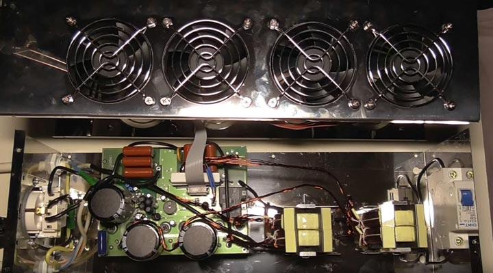 вентиляторы охлаждения стабилизатора