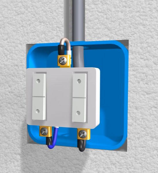 подключение отходящих фазных контактов на двуклавишном выключателе света