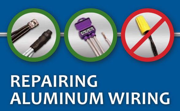 изолированным колпачком СИЗ запрещено скручивать алюминиевые провода