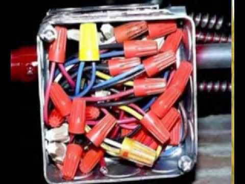 много соединений колпачками СИЗ в одной коробке