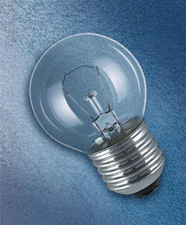 лампа шарик