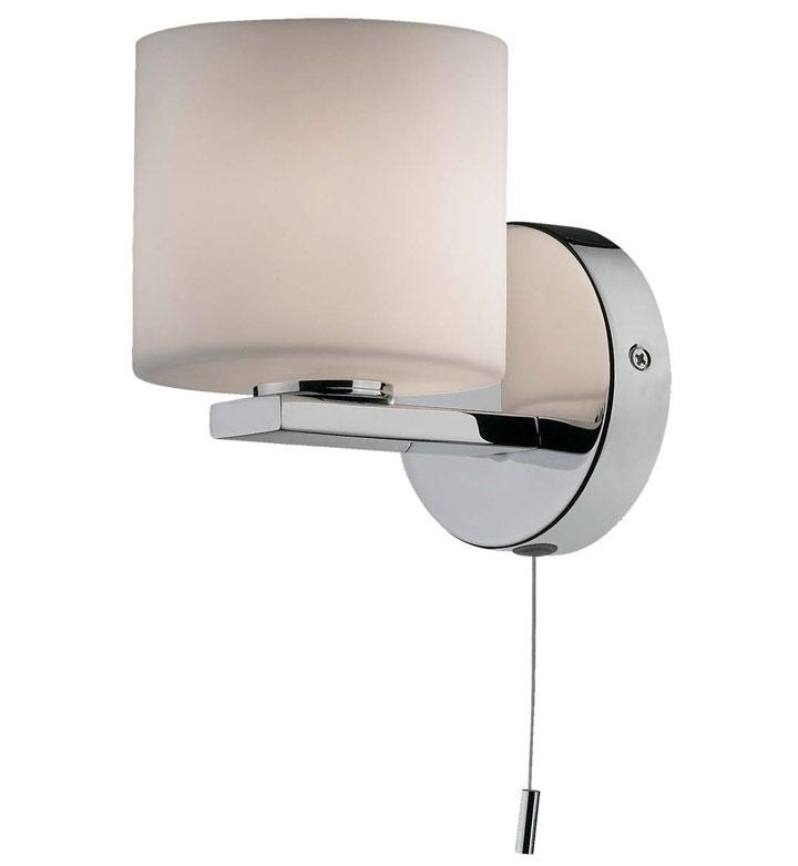 бра в ванную с веревочным выключателем