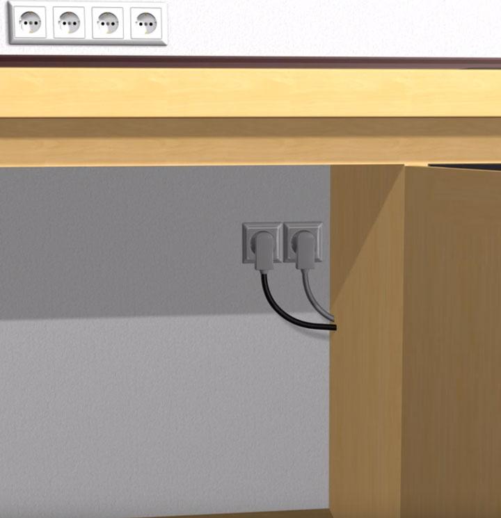 Можно ли подключать духовой шкаф через удлинитель