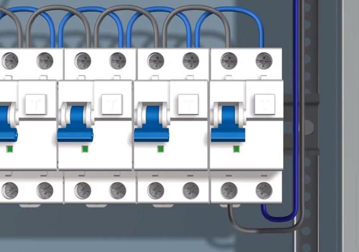 подключение кабеля теплого пола через диффавтомат