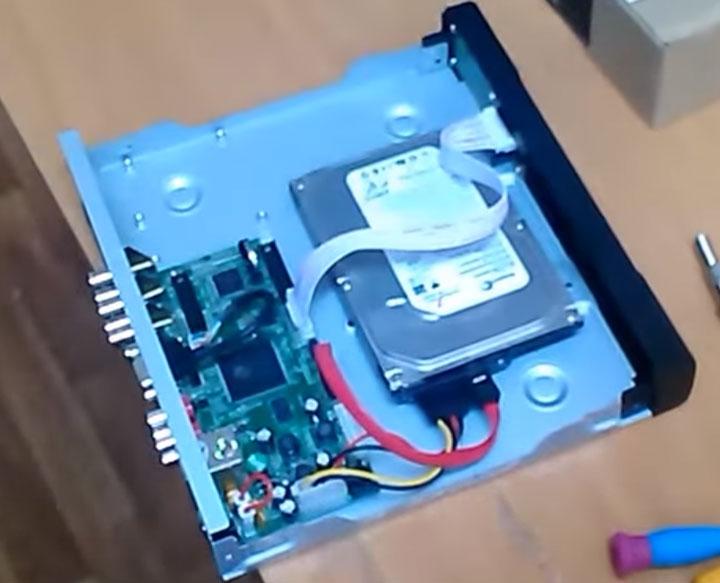 жесткий диск в видеорегистраторе
