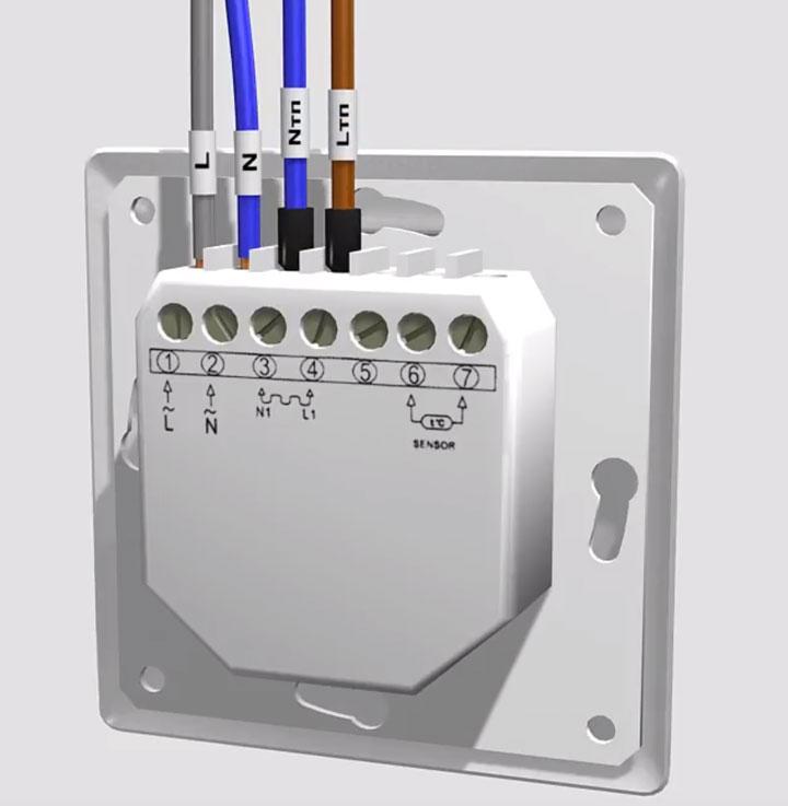 куда подключать провода холодного конца на регуляторе температуры нагревательного мата