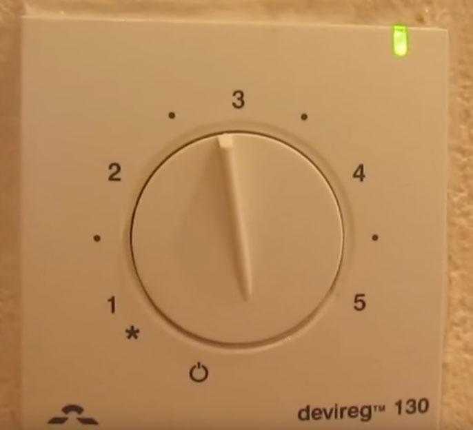 обрыв датчика теплого пола моргает зеленый индикатор