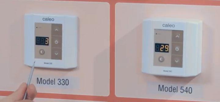 выбор программы обогрева теплого пола по таймеру без температурного датчика