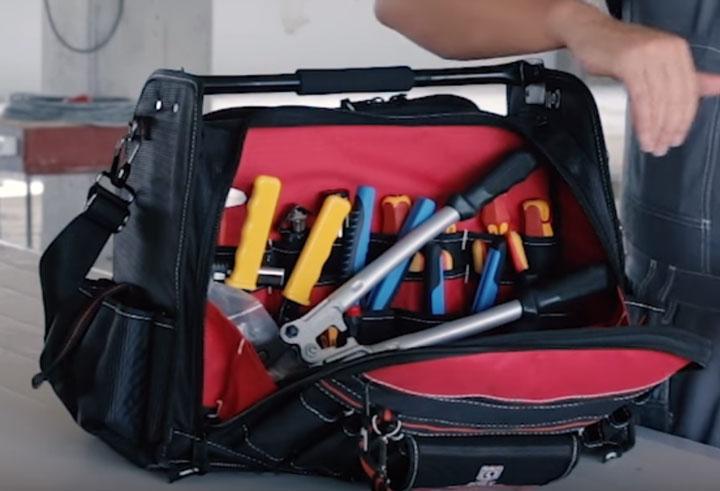 732a90806530 2 сумки монтажника от КВТ С-06 и С-10 - обзор, цена, что внутри и ...