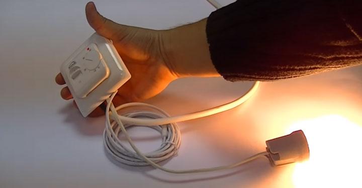 как проверить исправность теплых полов и температурного датчика