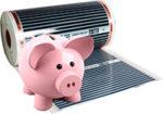 Электрический теплый пол — расход электроэнергии. Сколько кВт в месяц?