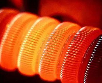 раскаленная спираль тепловентилятора