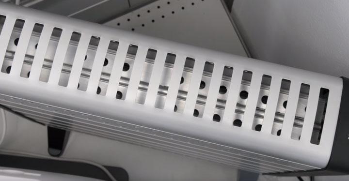 трубка в конвекторе для нагрева вместо спирали