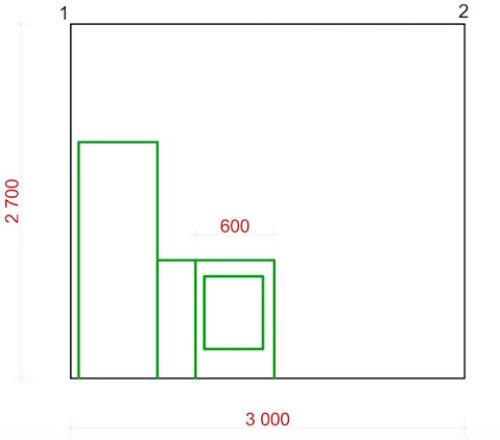 где устанавливать розетки на кухне высота