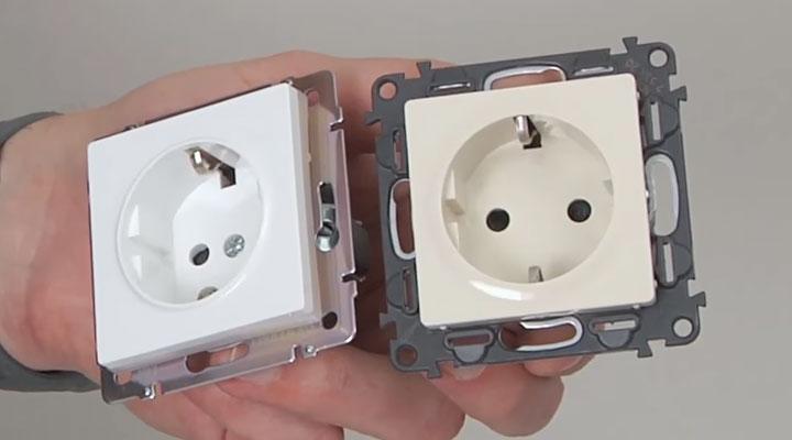 de4f8cfc0843 5 отличий - какие розетки и выключатели лучше. Как выбрать хороший ...