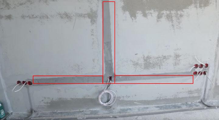 Электрика по полу или потолку - 3 причины за и против