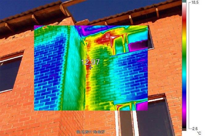 проблемы при обследовании тепловизором как захватить всю стену