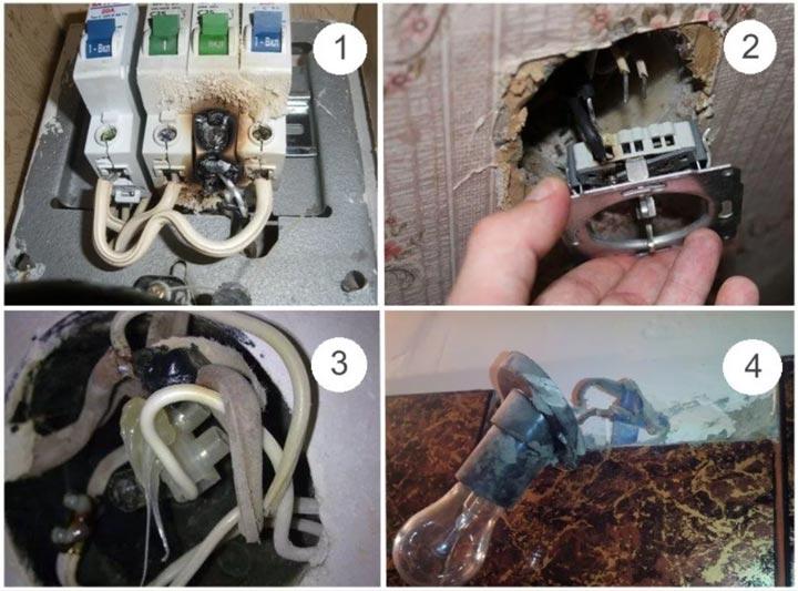 что бывает при подключении алюминиевой электропроводки