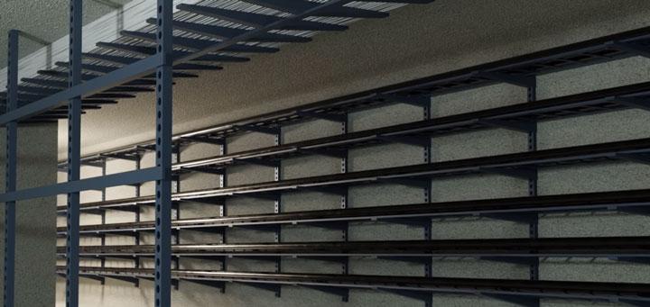 монтаж кабеля СПЭ в туннелях