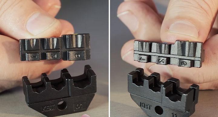 профиль опрессовки матриц МПК-01 и МПК-11