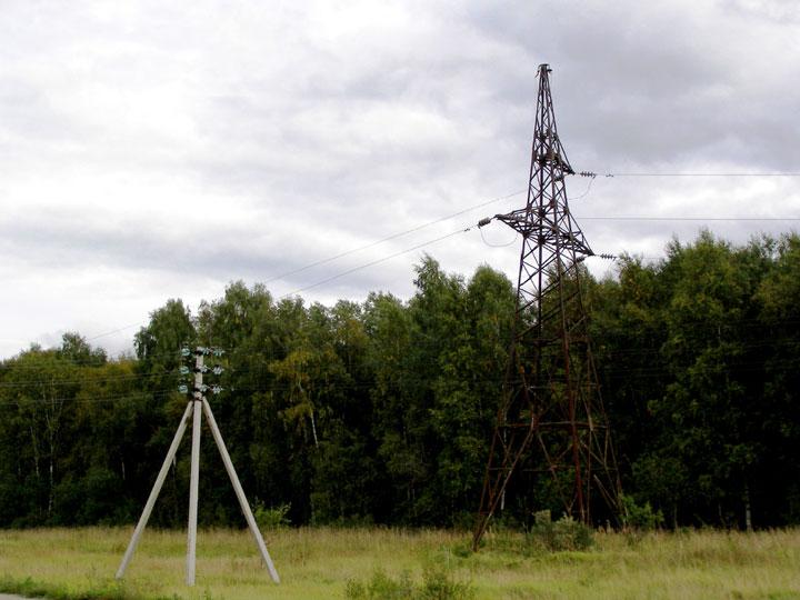 наглядное сравнение ВЛ-35кв с голыми проводами и ВЛЗ-35кв