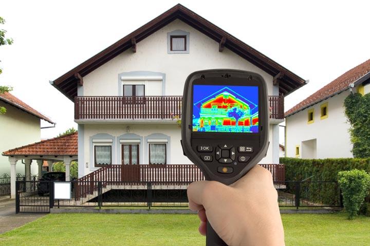 что дает тепловизор при обследовании дома
