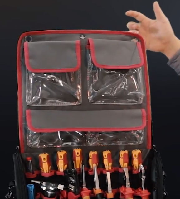 люверсы для подвески сумки КВТ на гвоздик