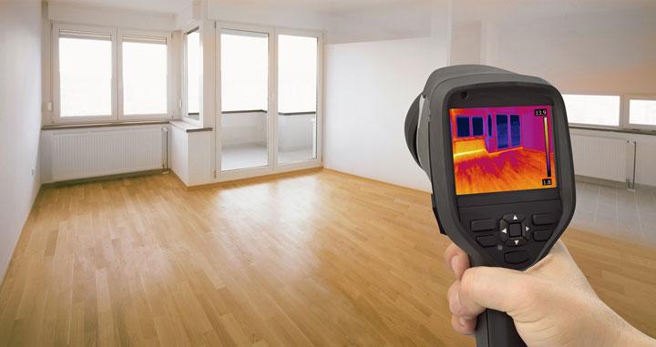 почему нужно чистое помещение внутри при обследовании тепловизором