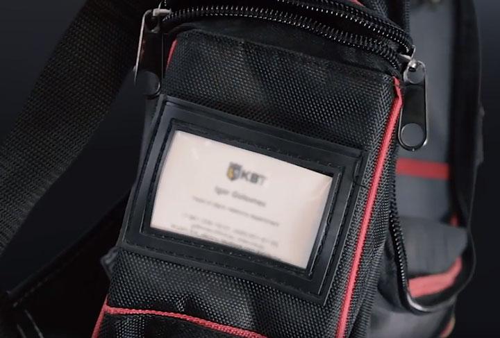 карммшек под визитку на сумке с09