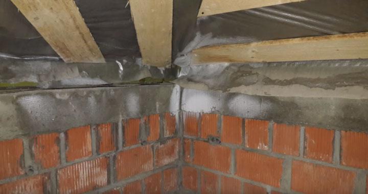 жучки при инфильтрации тепла через стены