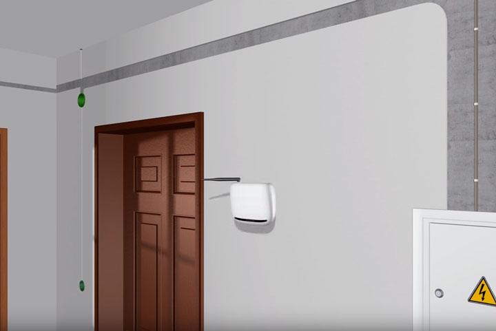 установка wifi роутера в прихожей