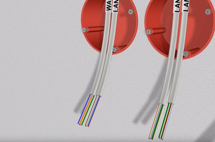 разделка кабеля utp для подключения роутера