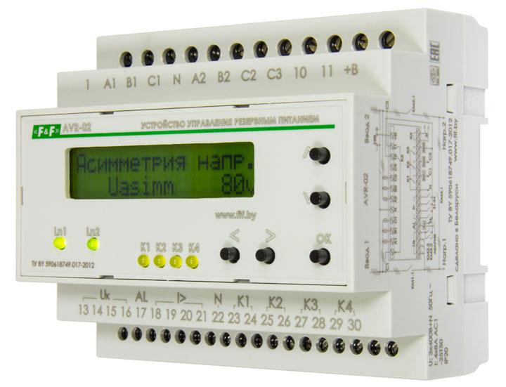 AVR-02 фиф автоматика и его схема