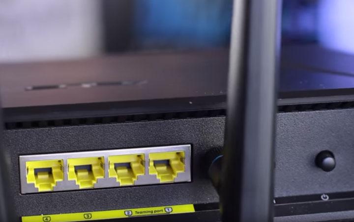 разъемы LAN на роутере куда подключать кабель