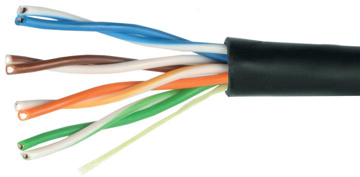 кабель UTP для подключения роутера