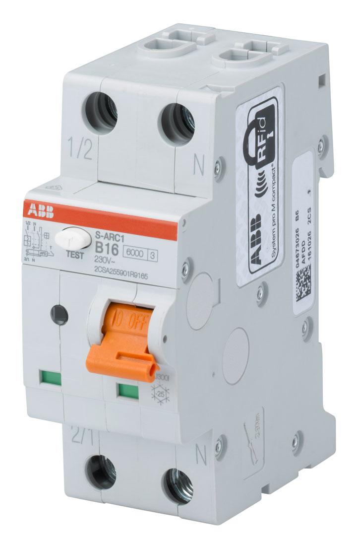заитный автомат от дуги и искрения ABB ARC1