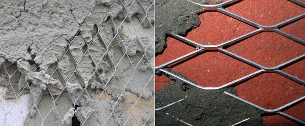 армирование стен сеткой перед штукатуркой можно ли штробить после