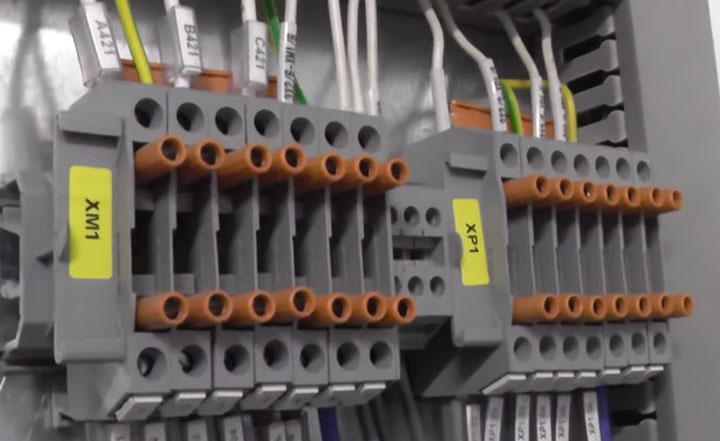 токовые клеммы с тестовыми разъемами