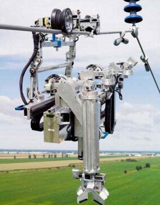 робот для обследования высоковольтной ВЛ