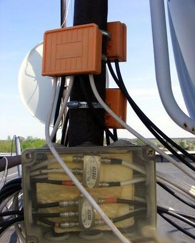 как лучше всего защитить от влаги дисек на спутниковой антенне