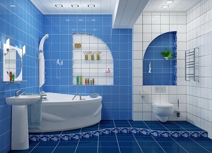 ванная с вытяжным вентилятором