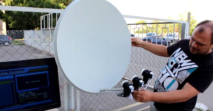 поиск и настройка каналов на спутниковой тарелке инструкция