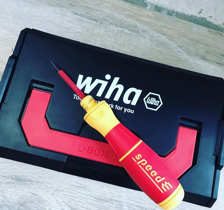 L-Boxx для аккумуляторной отвертки Wiha SpeedE