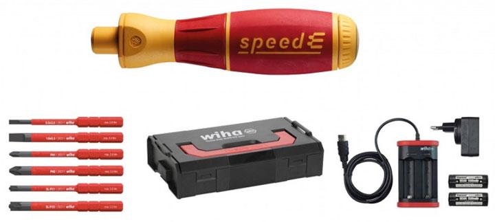 самая дешевая комплектация аккумуляторной отвертки Wiha SpeedE