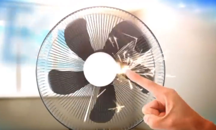 какая должна быть защитная решетка на напольном вентиляторе
