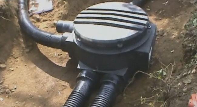 теплоизолированный колодец для труб Uponor