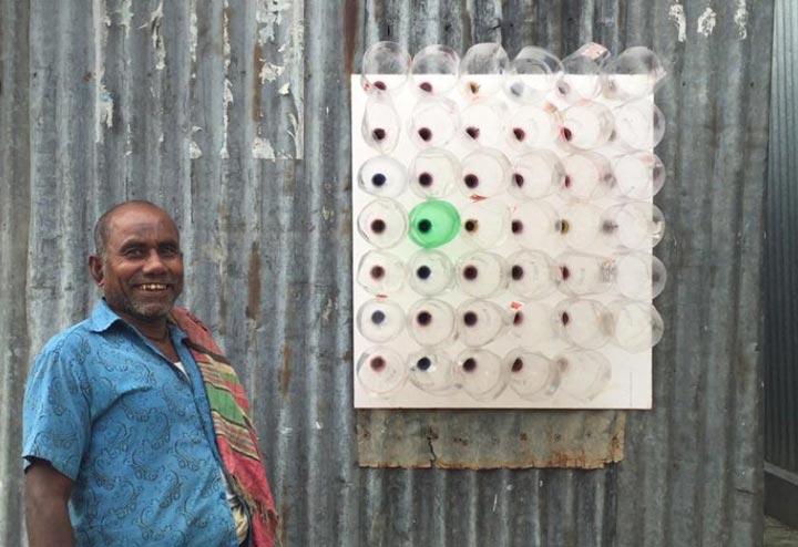 сборка самодельного кондиционера в окно в Бангладеш