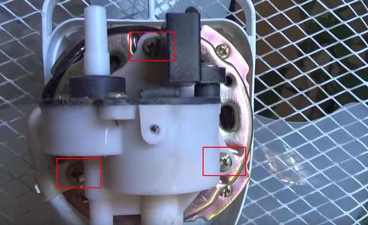 как снять редуктор с вентилятора